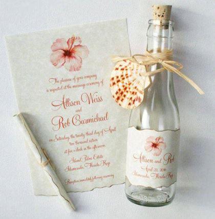 Convites de casamento modernos Casando sem Grana