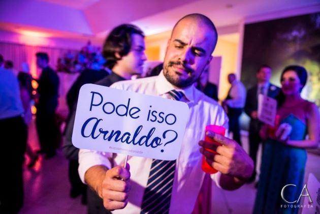 Papelaria econômica de casamento da Em Breve Casadinhos - Pode isso Arnaldo?