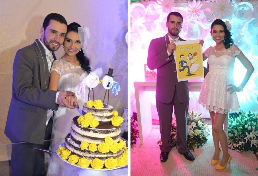 Casamento real e econômico Michele e Jorge de Amabai no Mato Grosso do Sul