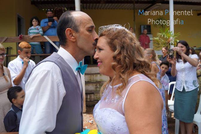 Bodas de pérola Maria e Jose