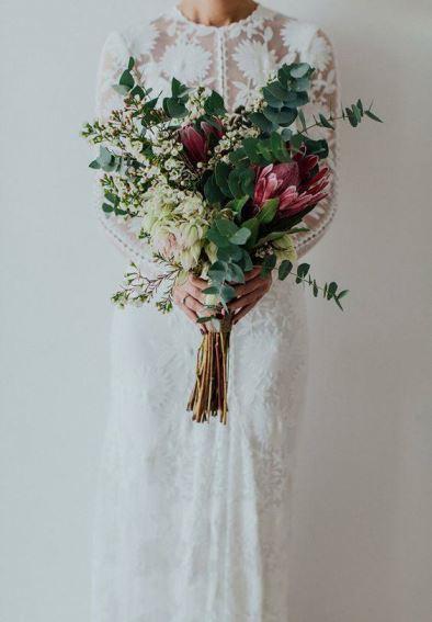 Buquê rústico de casamento