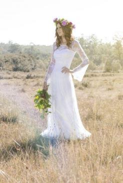 Vestido de Noiva Boho - O Amor é Simples