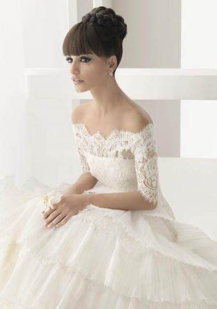 Tendência de vestido de noiva! Fonte: Pinterest/santanovia
