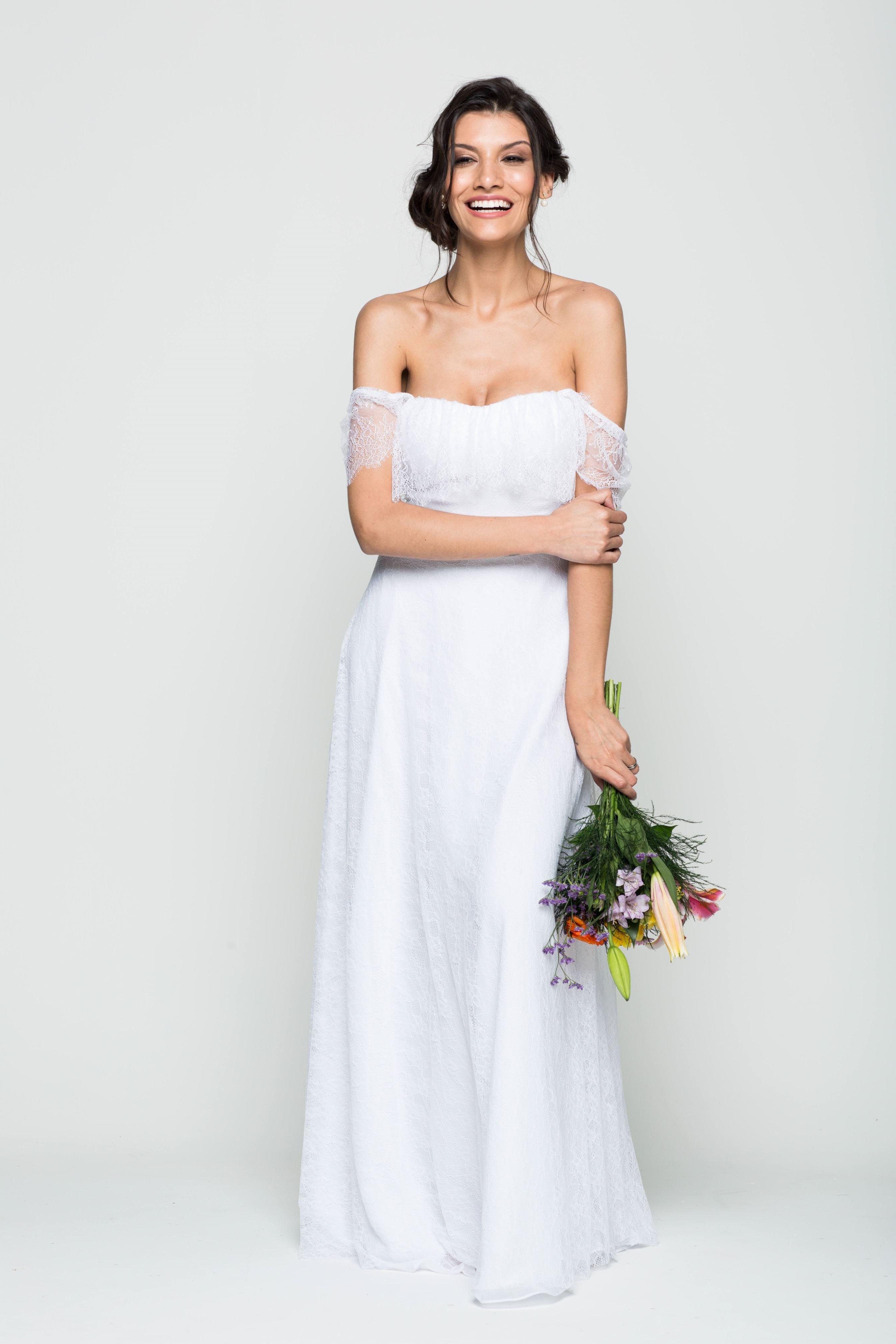 Vestido de Noiva Iemanjá - O Amor É Simples