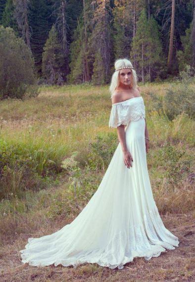 Tendência de Vestido de noiva. Fonte: Pinterest/etsy