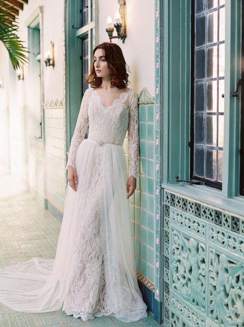 Tendência em Vestidos de Noiva. Fonte: http://aisleperfect.com