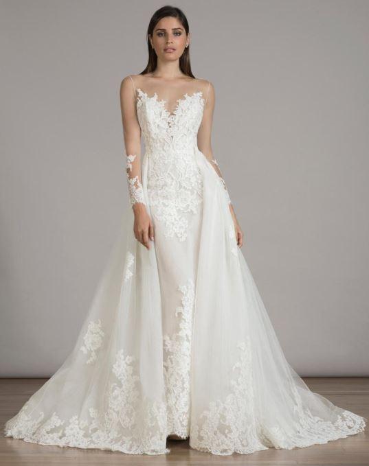 Tendência em Vestido de Noiva. Fonte http://aisleperfect.com