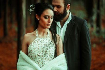 Vestido de Noiva Pétala - O Amor é Simples