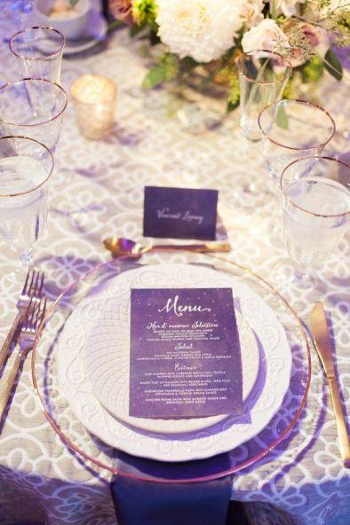 casamento roxo convite
