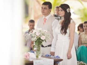 mini wedding cerimônia ar livre