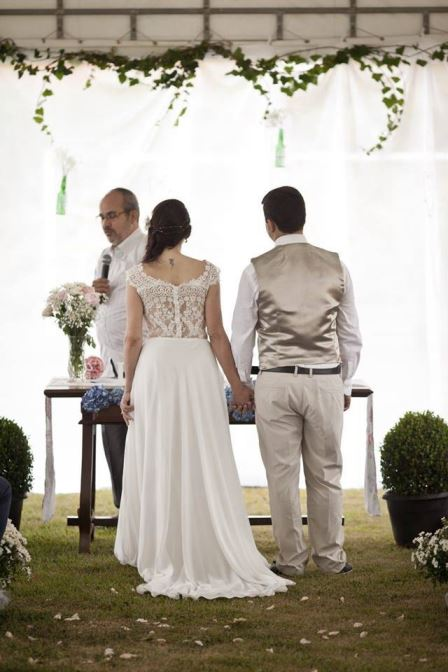 mini wedding cerimônia dia