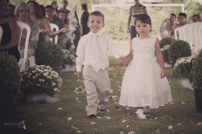 mini wedding daminha e pajem