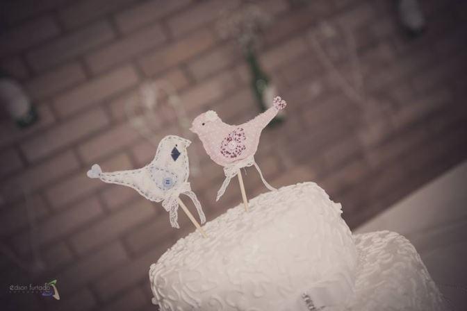 mini wedding topo bolo