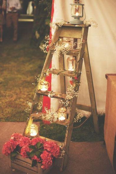 casar sem gastar muito decoração casamento rústico DIY