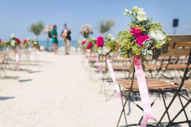 casar sem gastar muito decoração rústico casamento na praia mini wedding