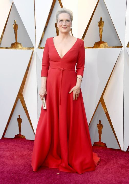 looks do oscar 2018 vestido madrinha meryl streep