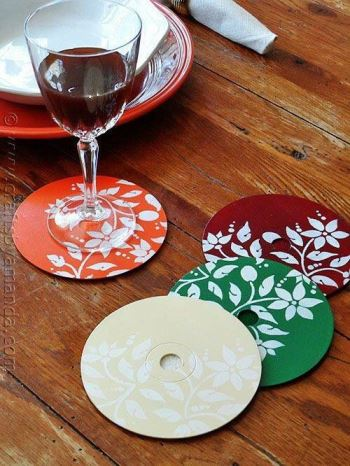 porta-copos lembrancinhas de casamento DIY 3