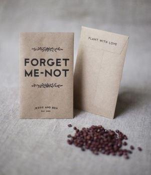 sementes lembrancinhas de casamento DIY