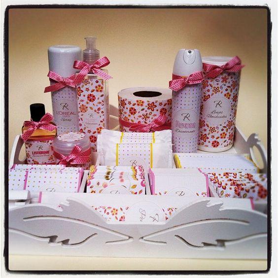 kit toalete para casamento