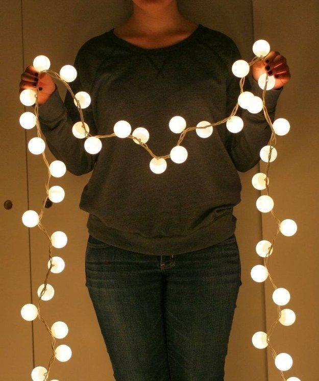 Faça você mesmo: cordão de luz